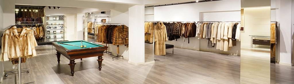 showroom de pelleteria al centre de Barcelona