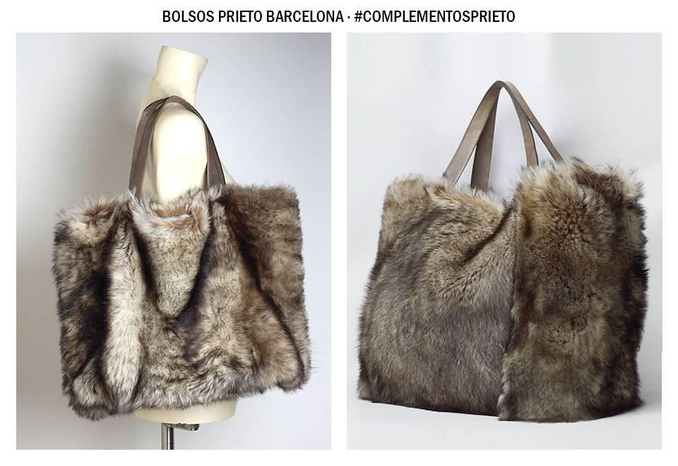 Bolso grande peletería Prieto Barcelona