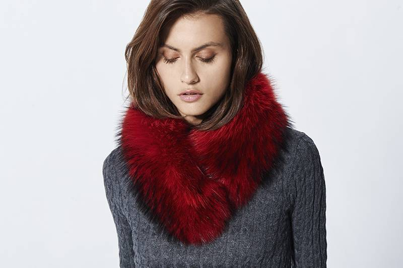 Red fox collar